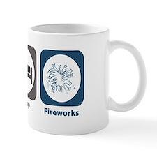 Eat Sleep Fireworks Mug