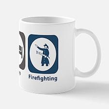 Eat Sleep Firefighting Mug