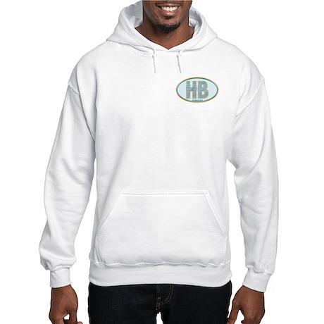 Fancy Blue HB Hooded Sweatshirt