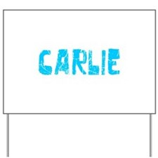 Carlie Faded (Blue) Yard Sign