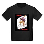 Biking is My Passion, Bicycle Riding Print T-Shirt