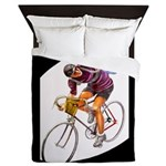 Biking is My Passion, Bicycle Riding Print Queen D