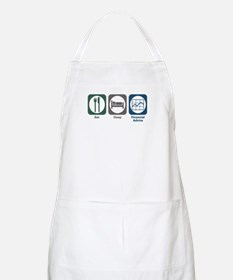 Eat Sleep Financial Advice BBQ Apron