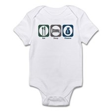 Eat Sleep Finance Infant Bodysuit