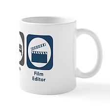 Eat Sleep Film Editor Small Mug