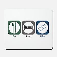 Eat Sleep Film Mousepad
