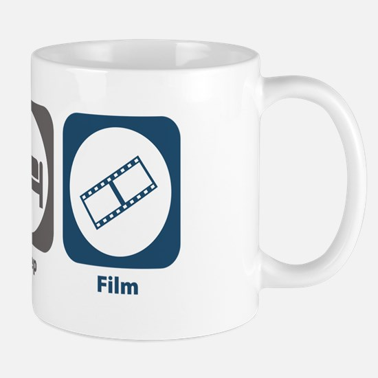 Eat Sleep Film Mug