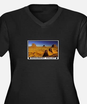 MONUMENT VALLEY Plus Size T-Shirt