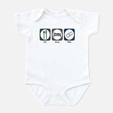 Eat Sleep Film Infant Bodysuit