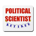 Retired Political Scientist Mousepad