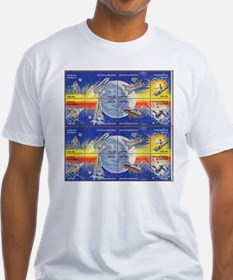 Space Decade Shirt Space Stanp Gifts