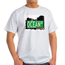 OCEAN AV, BROOKLYN, NYC T-Shirt
