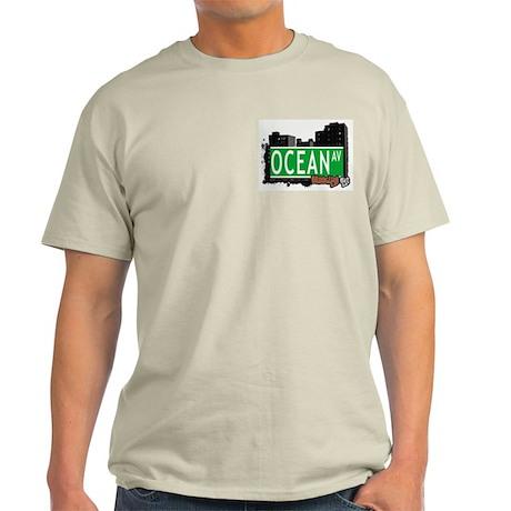 OCEAN AV, BROOKLYN, NYC Light T-Shirt