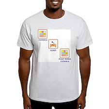 SuDoKu Ash Grey T-Shirt