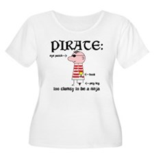 Clumsy Pirate T-Shirt
