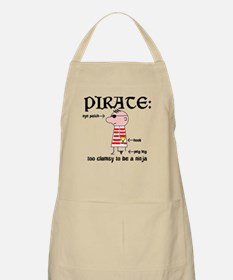 Clumsy Pirate BBQ Apron