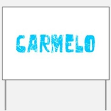 Carmelo Faded (Blue) Yard Sign