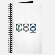 Eat Sleep Farm Equipment Journal