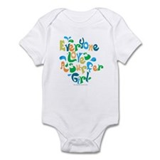 Surfer Girl Infant Bodysuit