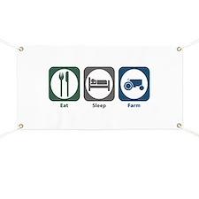 Eat Sleep Farm Banner