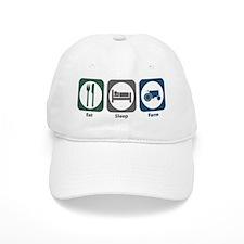 Eat Sleep Farm Baseball Cap