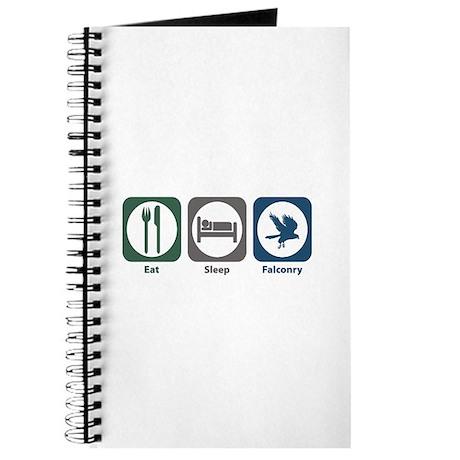 Eat Sleep Falconry Journal