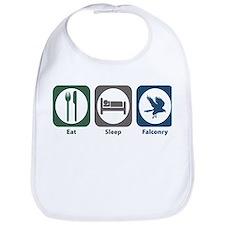 Eat Sleep Falconry Bib