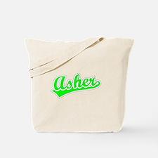 Retro Asher (Green) Tote Bag