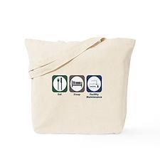 Eat Sleep Facility Maintenance Tote Bag