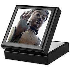 Black and White Buddha Keepsake Box