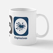 Eat Sleep Explosives Mug