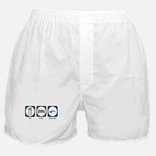 Eat Sleep Excavate Boxer Shorts
