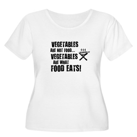 BBQ - Vegetables Are Not Food - Women's Plus Size