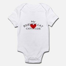 BURMESE CAT Infant Bodysuit