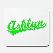 Retro Ashlyn (Green) Mousepad