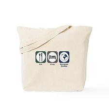 Eat Sleep European Studies Tote Bag
