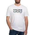 Eat Sleep European Studies Fitted T-Shirt
