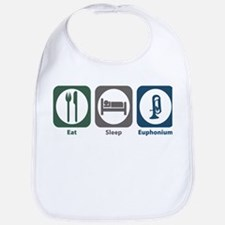 Eat Sleep Euphonium Bib