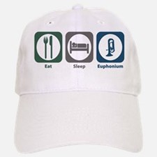 Eat Sleep Euphonium Baseball Baseball Cap