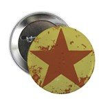 """Rusty Star 2.25"""" Button (10 pack)"""