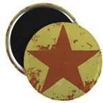 """Rusty Star 2.25"""" Magnet (100 pack)"""