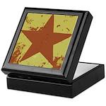 Rusty Star Keepsake Box