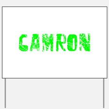 Camron Faded (Green) Yard Sign