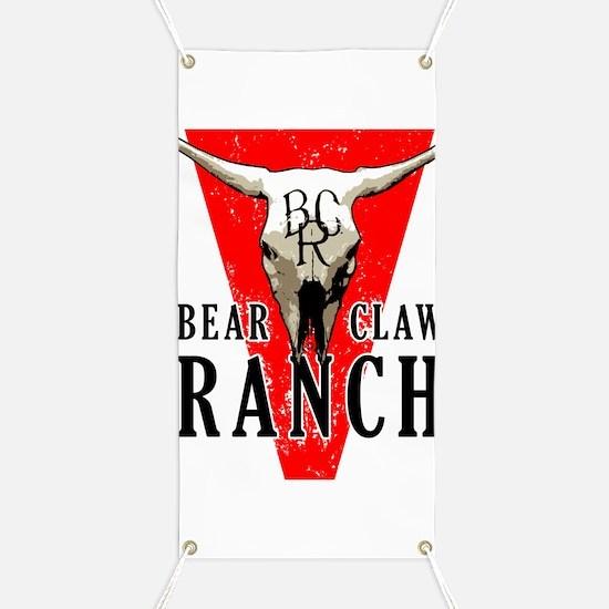 Bear Claw Ranch Banner