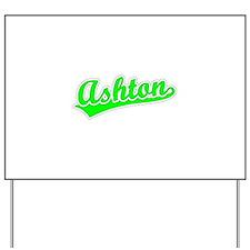 Retro Ashton (Green) Yard Sign