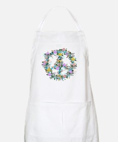 Dragonfly Peace Sign Apron