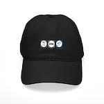 Eat Sleep Escalators Black Cap
