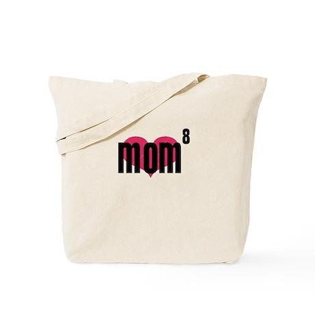 Mom of Eight Tote Bag