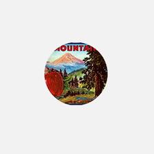 Mountain Mini Button
