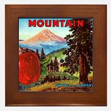 Mountain Framed Tile